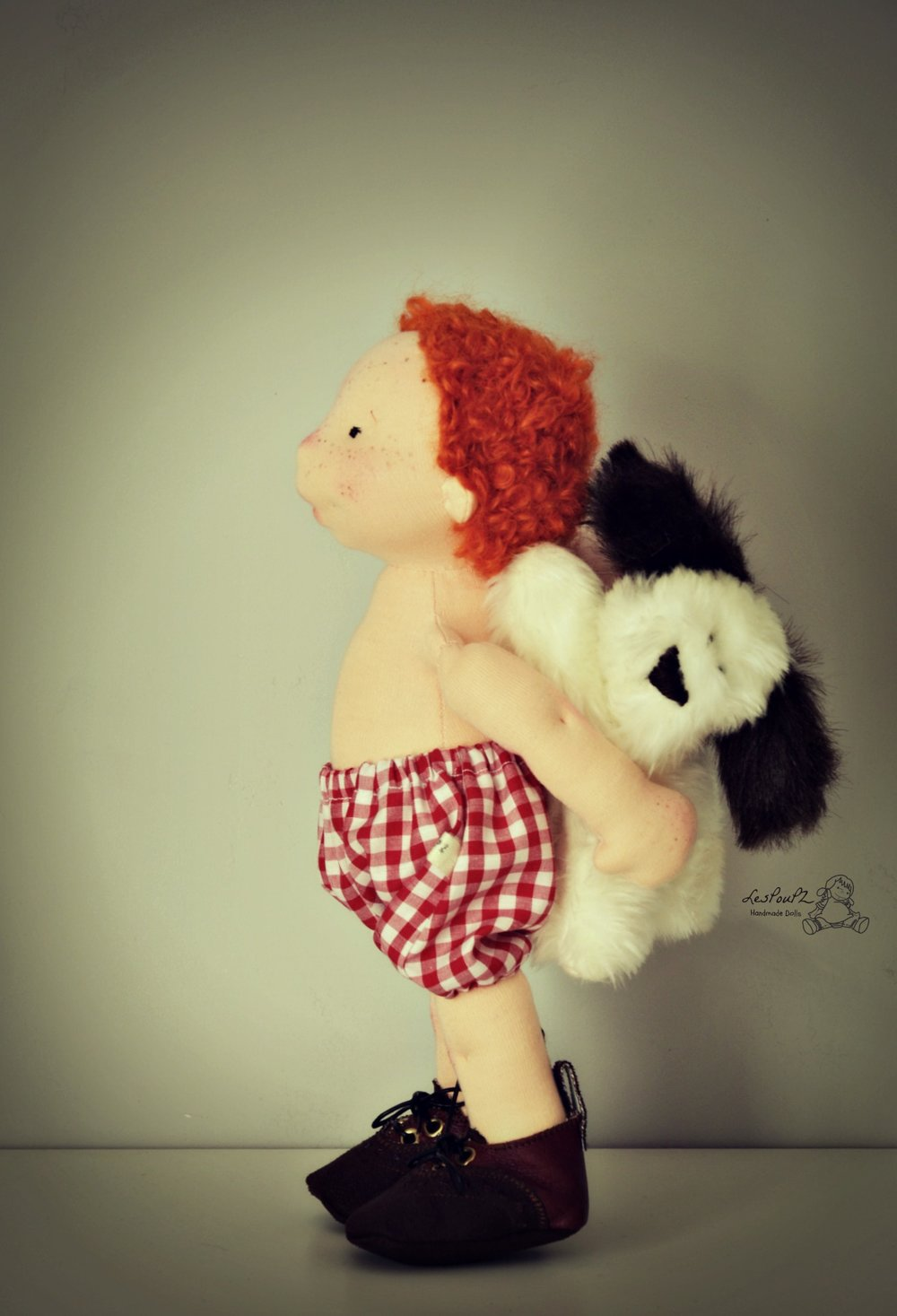 Liam, 12-inch Natural Fiber Doll