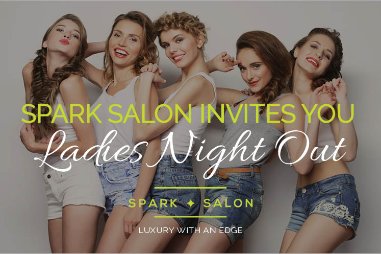 Ladies night out, wine tasting, june 16,2016, mainstream boutique maple grove, summer hair styling, spark salon, trunk show, retail sales, kerastase, L'oreal professionnel, evo, sam villa, wet brush, haskell's