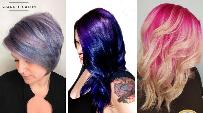 vivid haircolor, fantasy color, fantasy hair, mermaid hair, unicorn hair, maple grove, minnesota, plymouth mn, medina mn, long hair, thick hair, colorful hair, rainbow hair