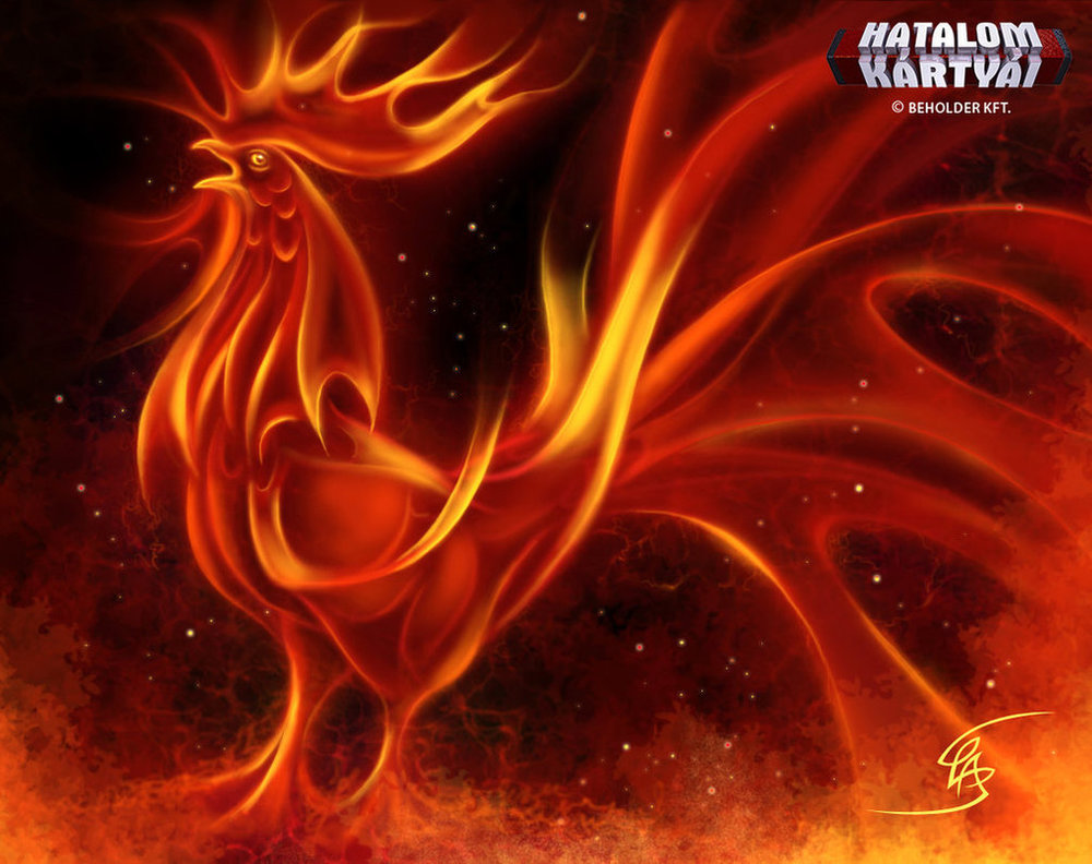 Fire rooster by Anikoo (https://anikoo.deviantart.com/art/Fire-Rooster-347905355
