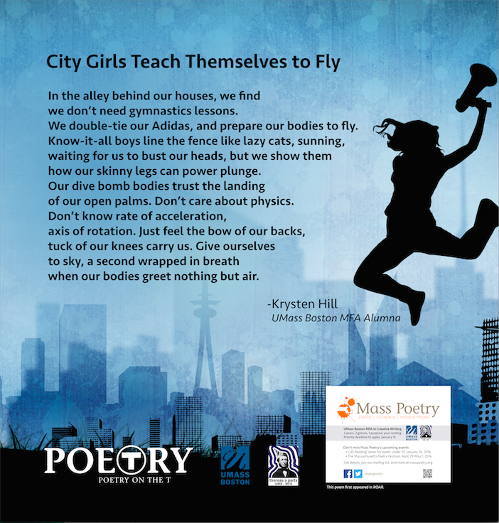 "Krysten Hill, ""City Girls Teach Themselves to Fly"""