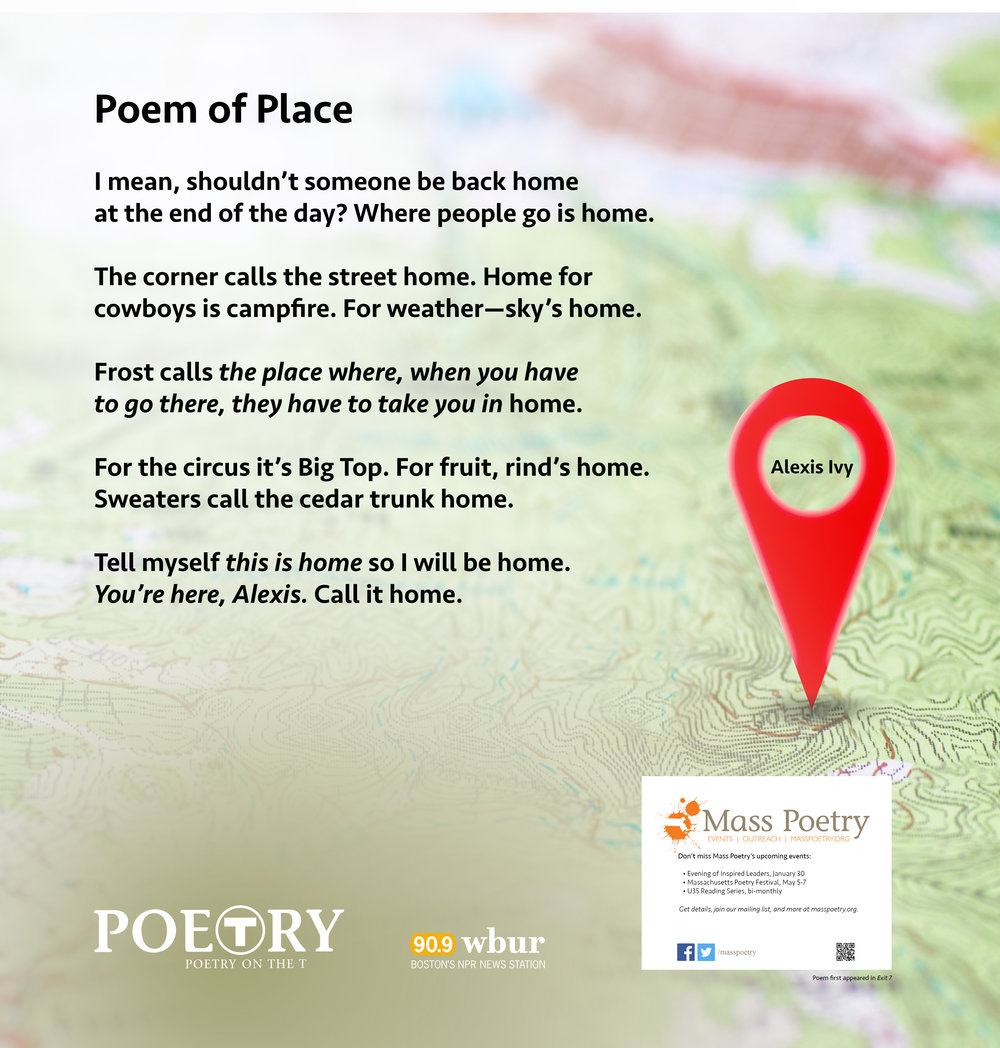 "Alexis Ivy, ""Poem of Place"""