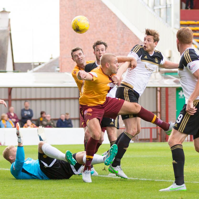 Motherwell v Aberdeen — 15-08-15