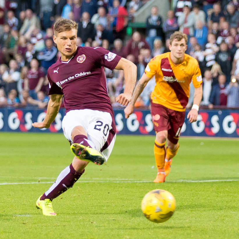 Hearts v Motherwell — 12-08-15