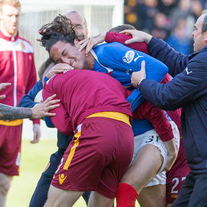 Motherwell v Rangers Premiership PLay-off 2nd Leg — 31-05-15