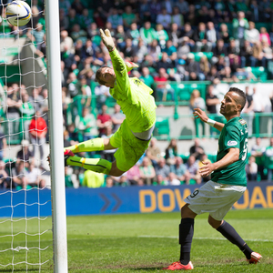 hibernian v rangers premiership play off 2nd leg— 23-05-15