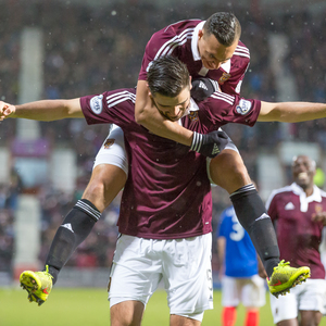 hearts v cowdenbeath — 08-03-15