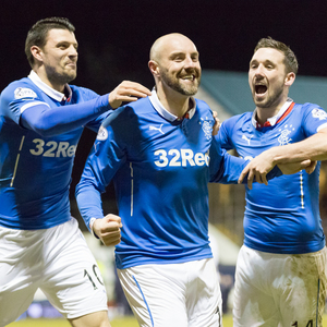 raith rovers v rangers — 20-02-15