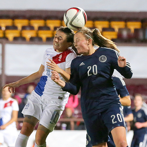 scotland v Holland — Women's World Cup 2015 Play off 1st leg — 25-10-14