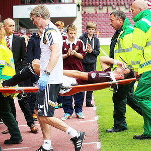 hearts v annan athletic — 26-07-14
