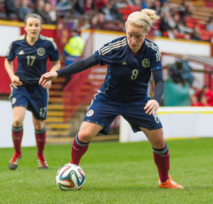 scotland v poland — Women's World Cup 2015 Qualifier — 05-04-15