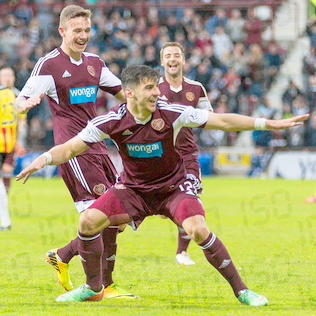 hearts v partick thistle — 07-05-14