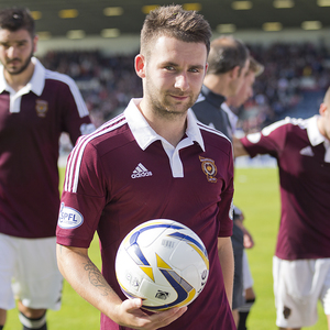 raith rovers v hearts — 23-08-14
