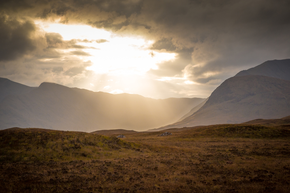 Glen Coe sunset