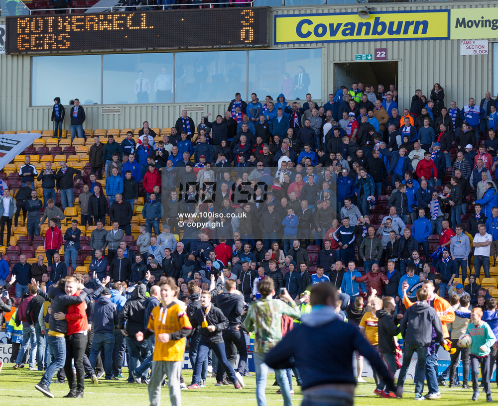 Motherwell v Rangers play-off – 31st May 2015