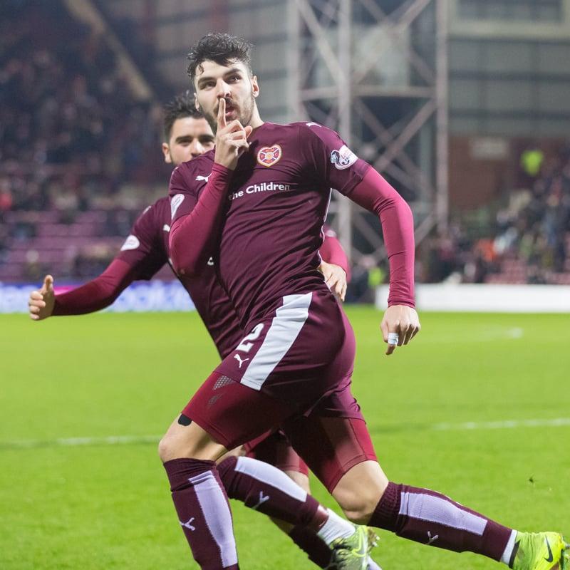 Hearts v Aberdeen – 09-01-16