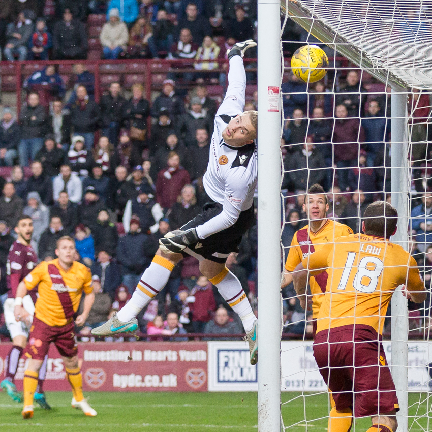 Hearts v Motherwell – 16-01-16