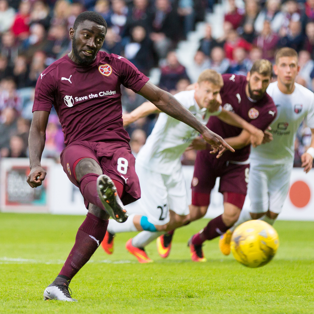 Hearts v Infonet Europa League
