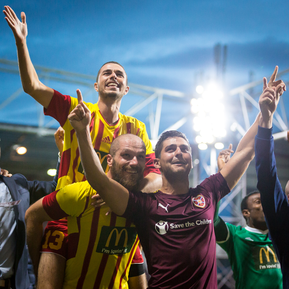 Hearts v Birkirkara Europa League