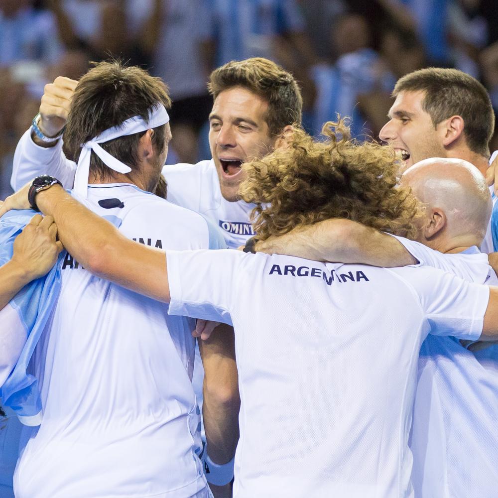 Daniel Evans v Leonardo Mayer – Davis Cup