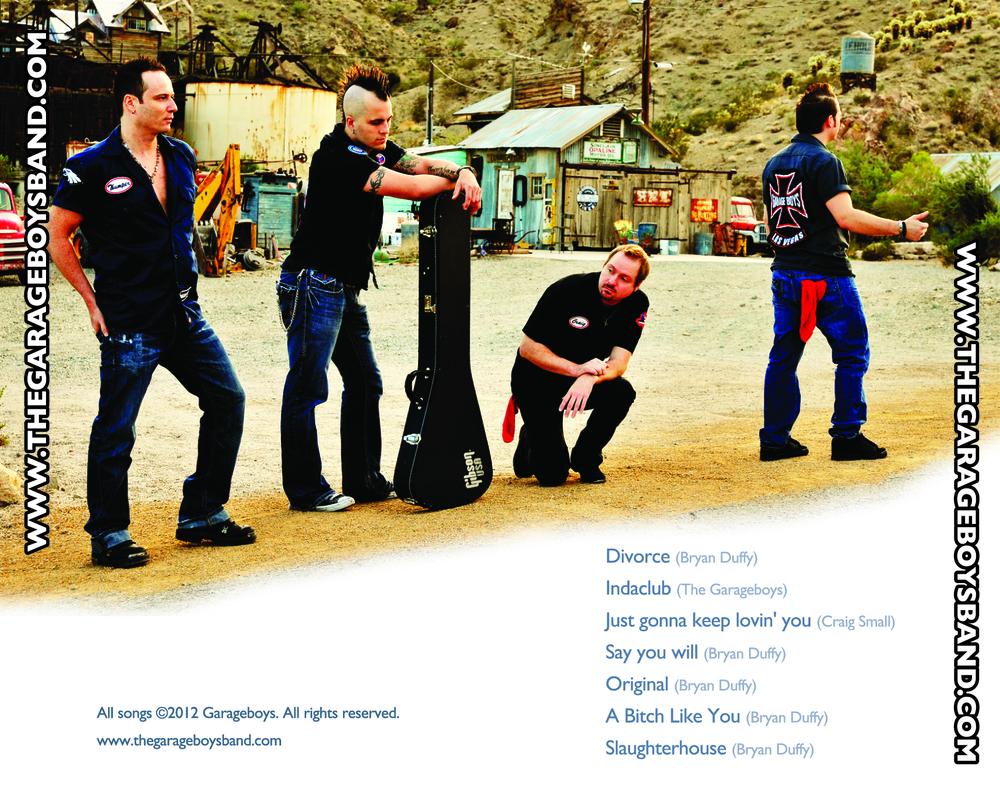 1st Cd Garage Boys Garage Boys