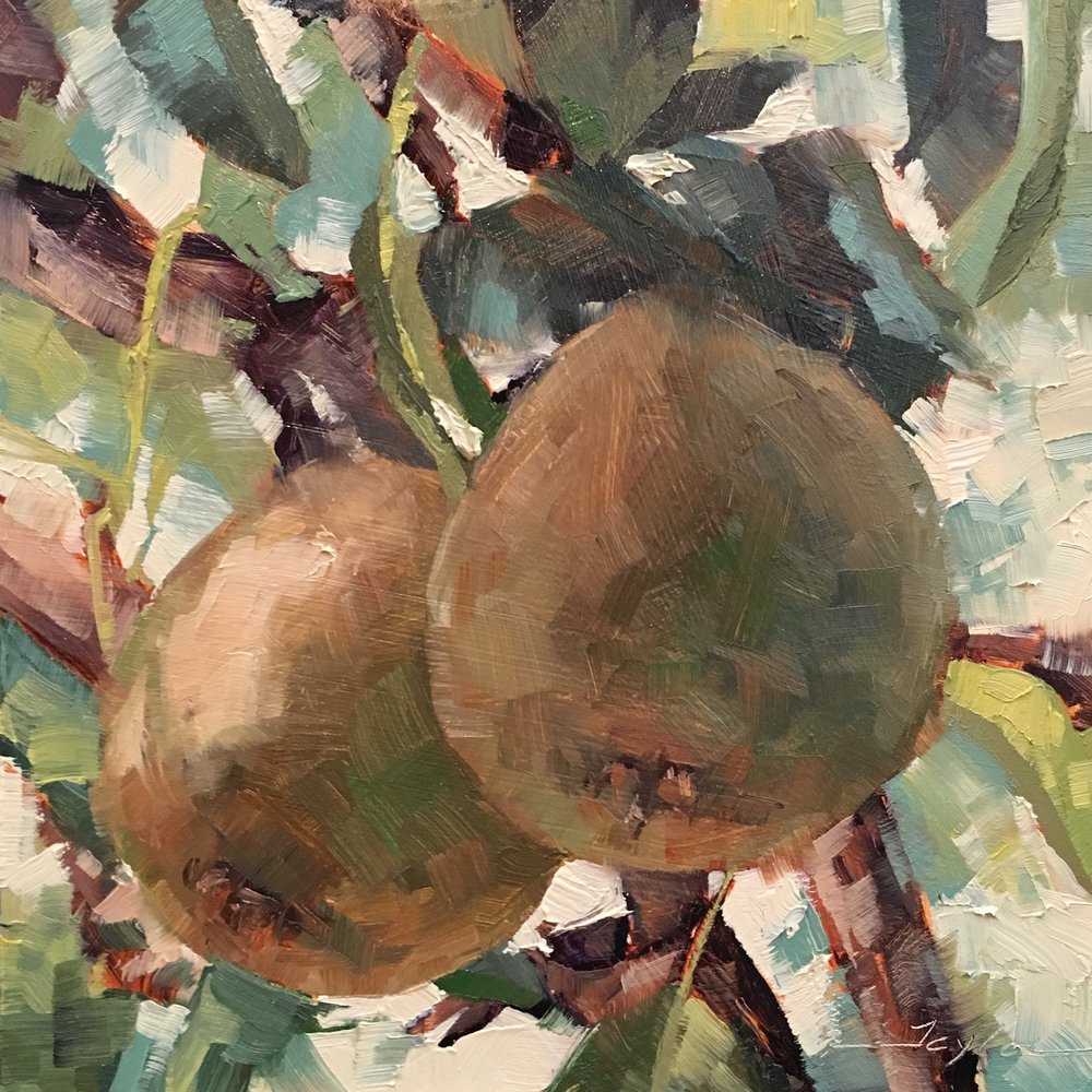 Paired Pears