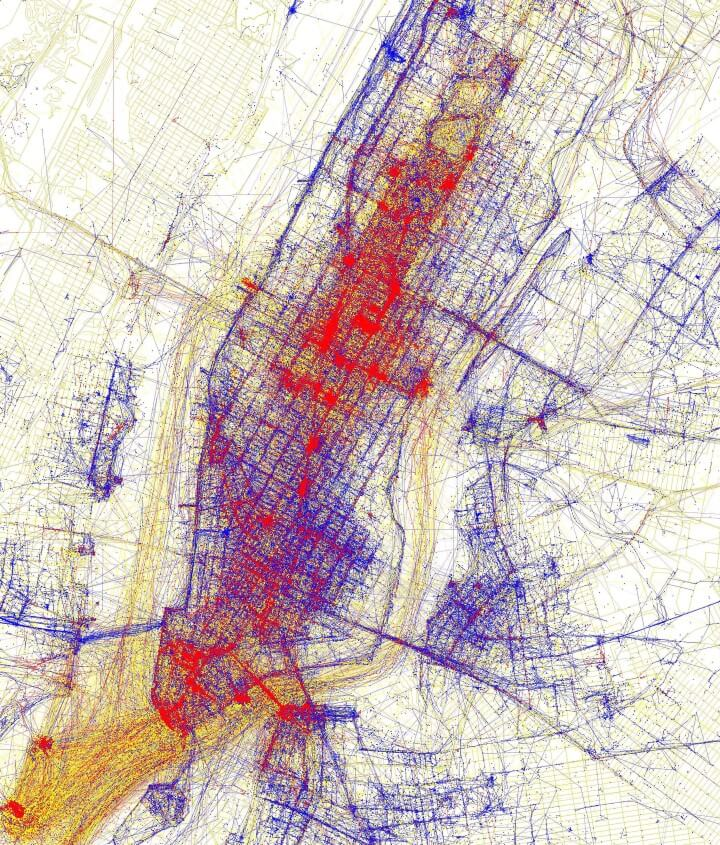 new york photography map