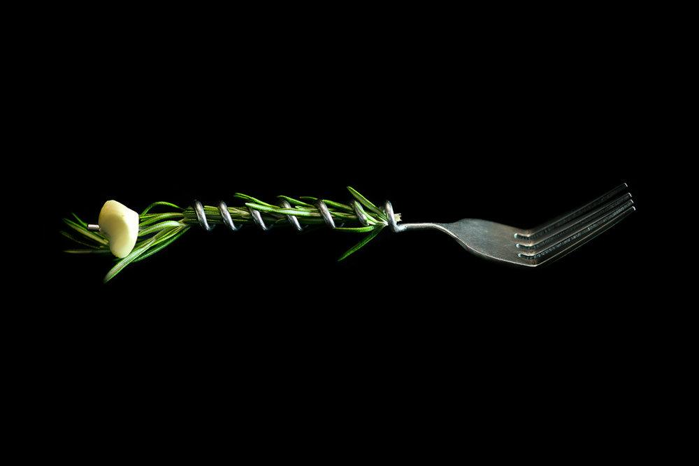Aromatic Fork, The Moto Cookbook, Homaro Cantu - Amy Stallard Photography