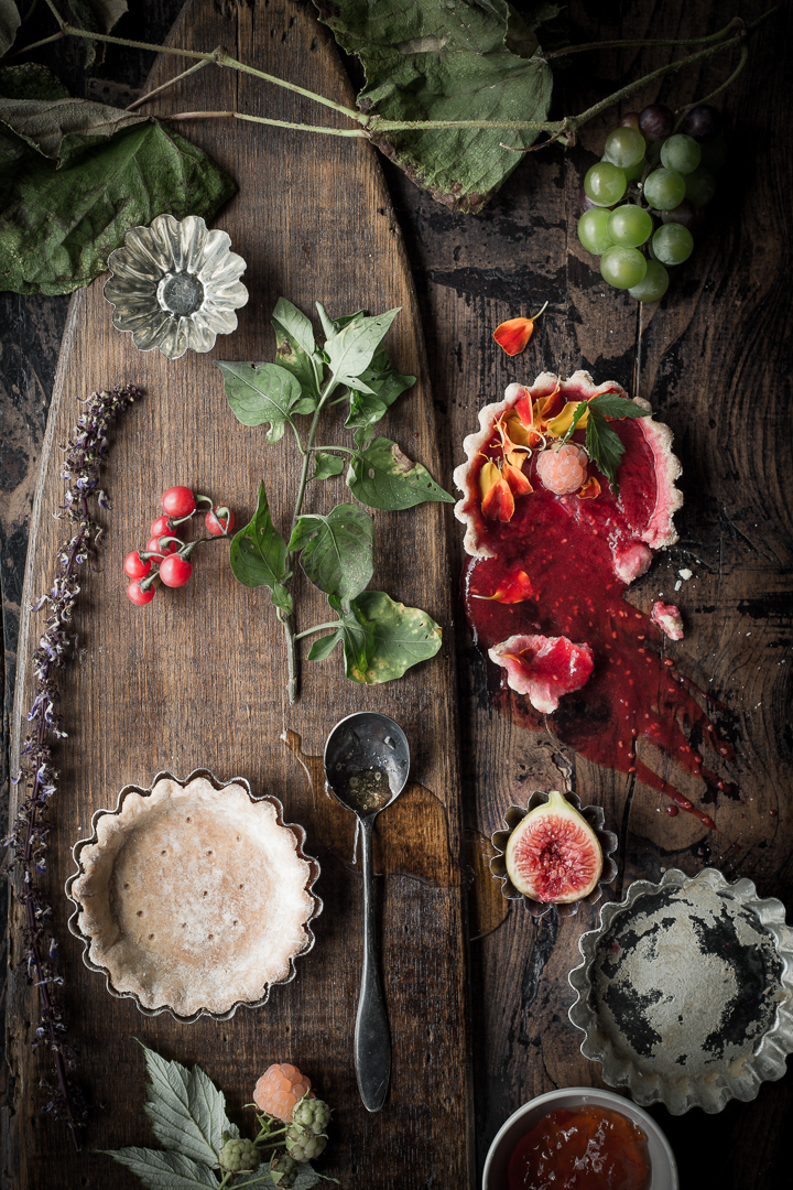 Tart Study styled by Mary Valentin and Claire Smyth, Chicago - Amy Stallard Photography