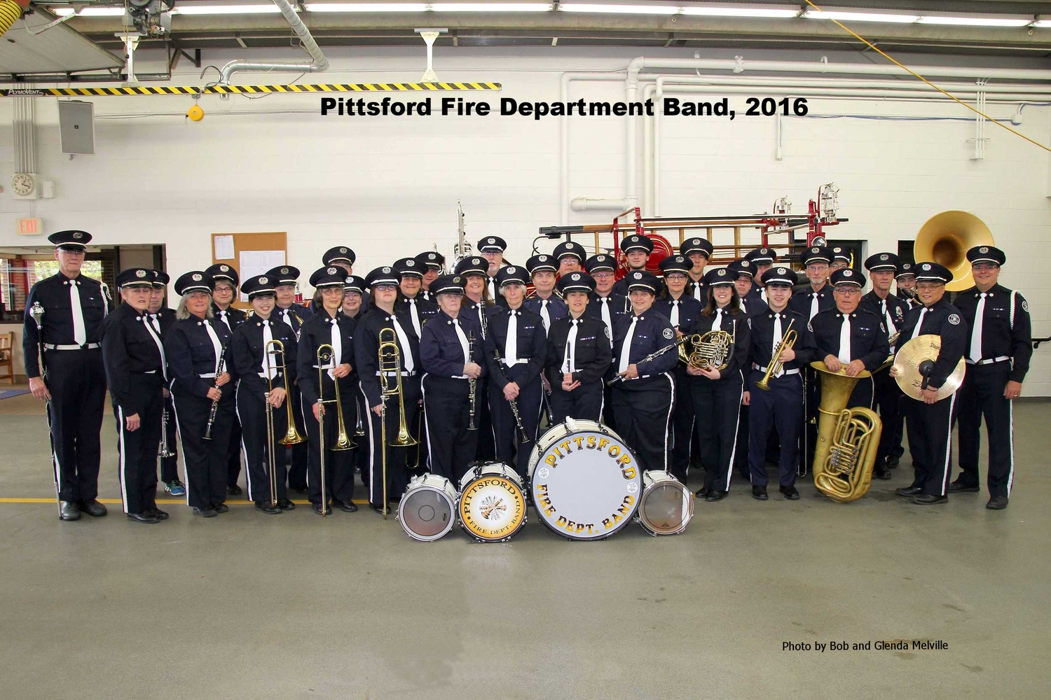 photos bands band pittsford may fire department