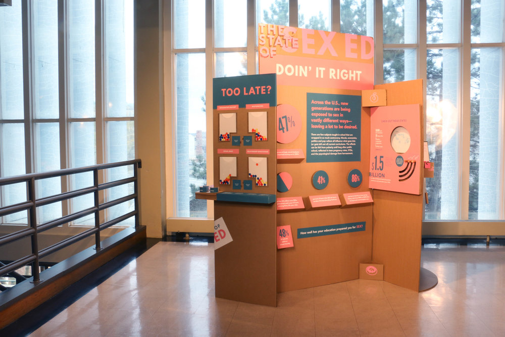 Exhibit can be easily deconstructed and assembled within 20 minutes.