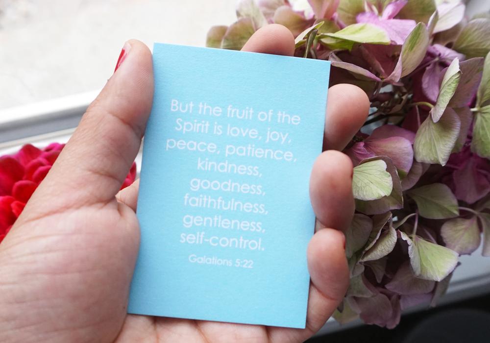 Scripture Cards Courtesy ofLara Casey