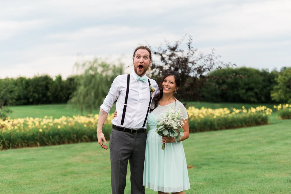 This picture us just such a perfect representation of our relationship that I had to share it. Its from our friends wedding back in August!