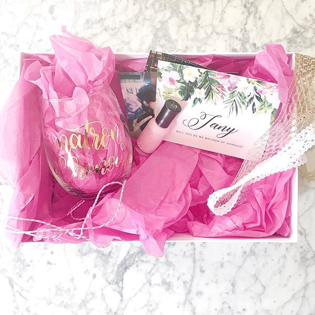 Cutest little #bridesmaidproposal ever. (I ate the chocolate in the box before I took a picture!) Can't wait for @lindsayrosibel wedding festivities 💃🏽💝💕🌿🌸 #matronofhonor #bridetribe #sister #wedding #mowgli