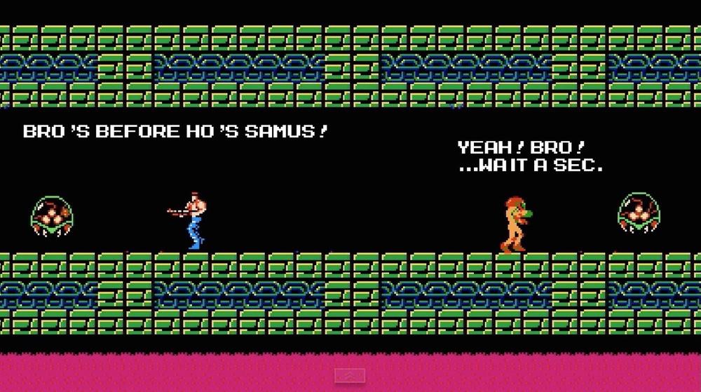 Spoiler: Samus is female.