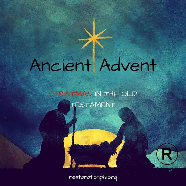 "Tomorrow is the first Sunday of Advent!  Advent means ""coming."" Up to Christmas Day, we take special care to consider what it meant for Jesus to have come to us. And we thoughtfully anticipate his return.  We invite you to be with us tomorrow as we enter this season, with song and prayer and a look back into a time when Jesus' first coming was foretold.  Would you join us for #AncientAdvent? 9AM & 11AM @ 6410 Rising Sun Ave."