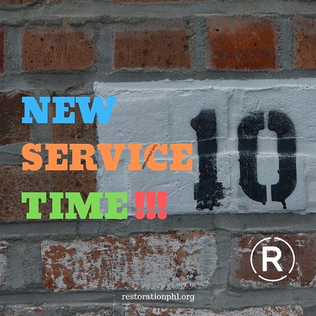 In case you haven't heard, starting THIS Sunday (2/3), we will be going back to ONE service with a NEW time: 10AM. We hope to see you Sunday at 10AM !!!