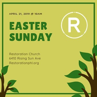 Join us this Sunday as we celebrate the risen Jesus!
