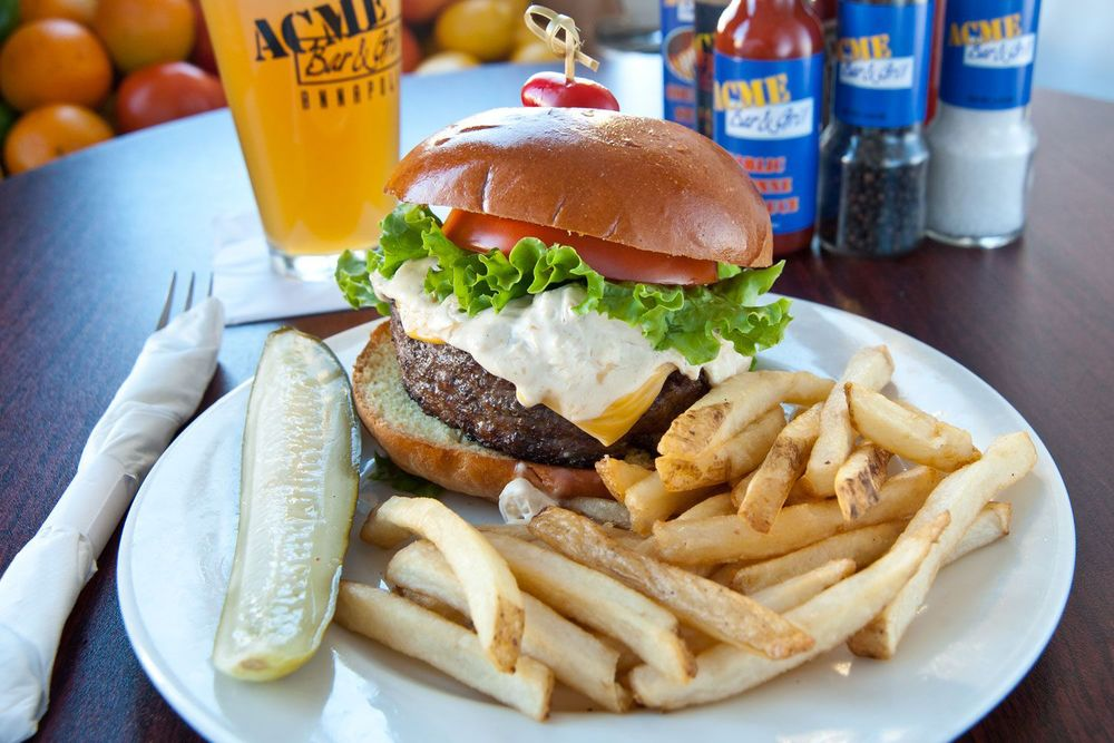 Acme Bar and Grill Annapolis Maryland