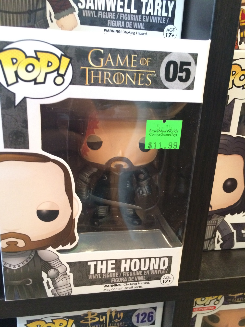 Two of my bffs love The Hound, but I was way more excited about Sam LOL
