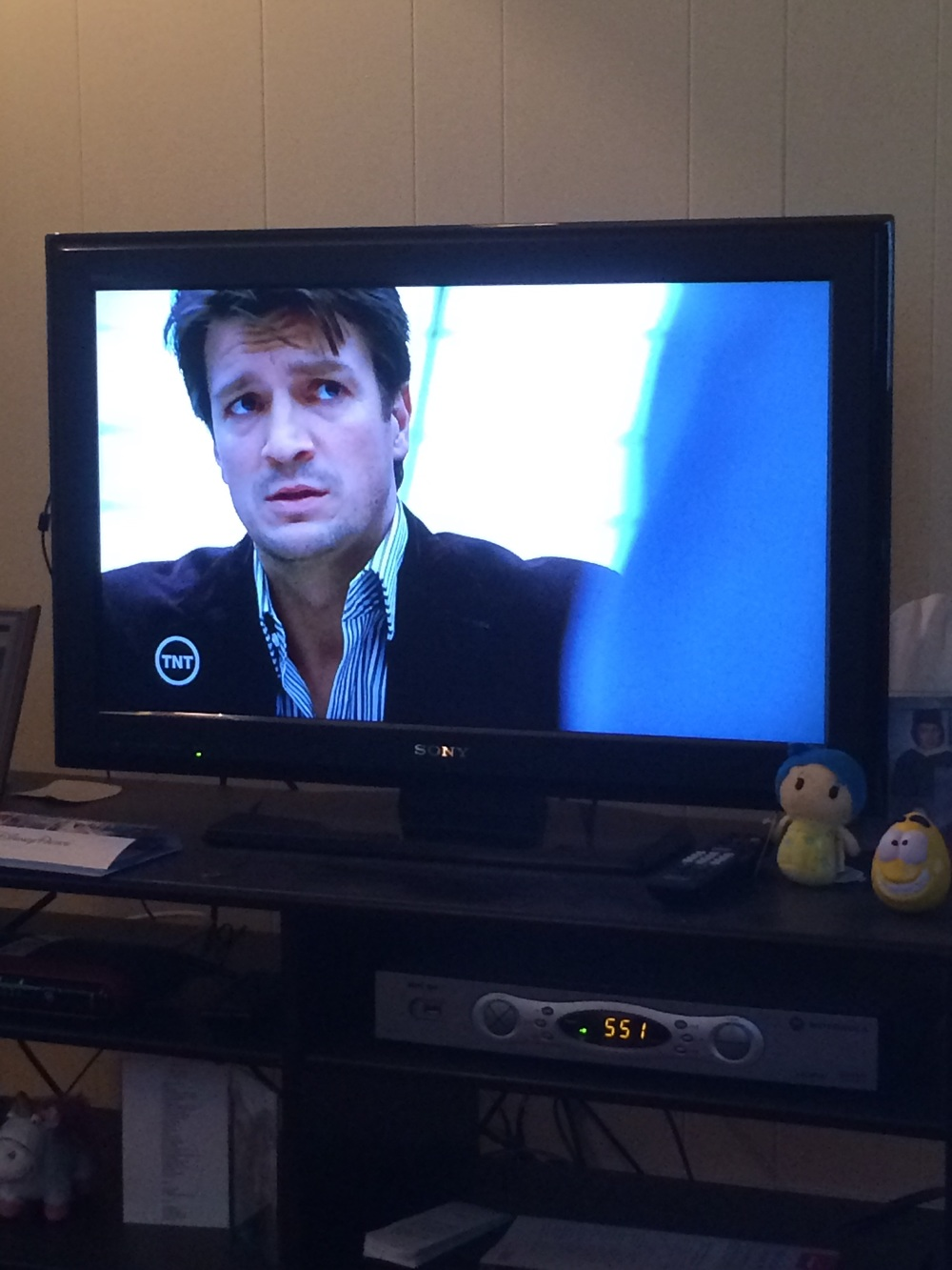 Thank god TNT has approx. 6 hours of  Castle  reuns on every night!