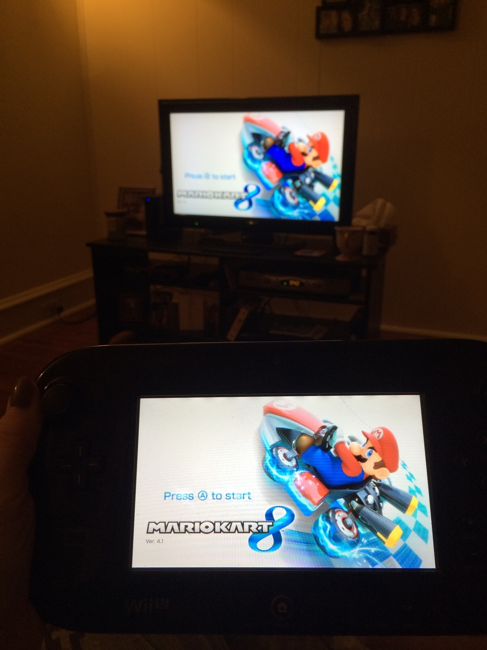 A WiiU was B and my shared Valentine's gift this year :)