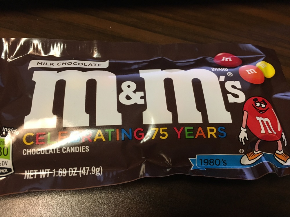 Plain M&Ms are one of those things I never want until I want them.