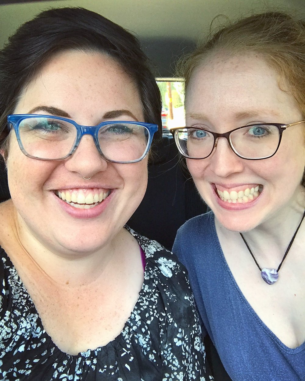 Legit ride or die--she's the second friend passenger I've had in my car!