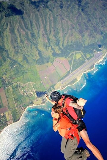 Skydive Hawaii: One of the most beautiful drop zones in all of skydiving.