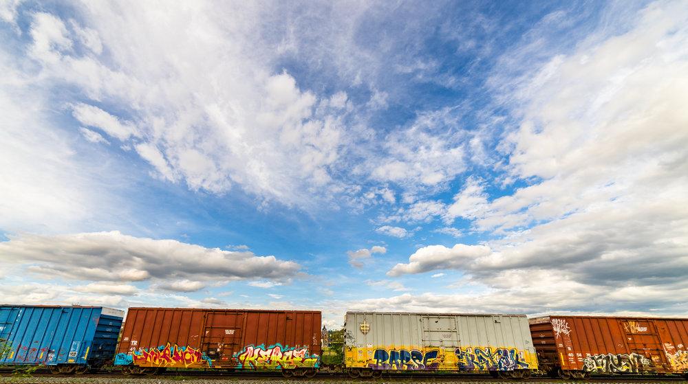 Train Sky