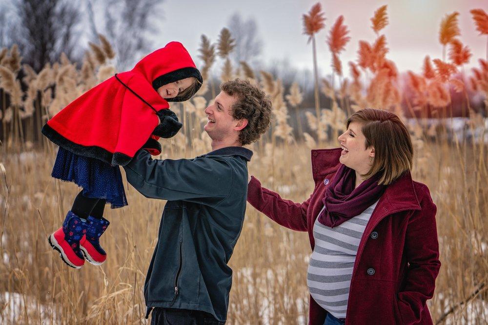 Family Sunset Photoshoot