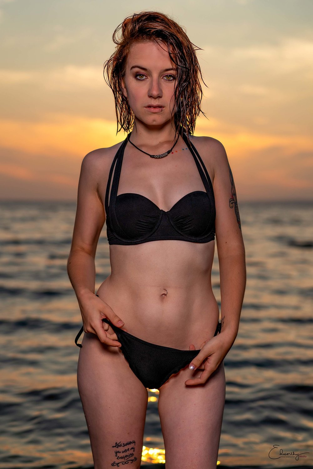 Bikini Sunset shoot