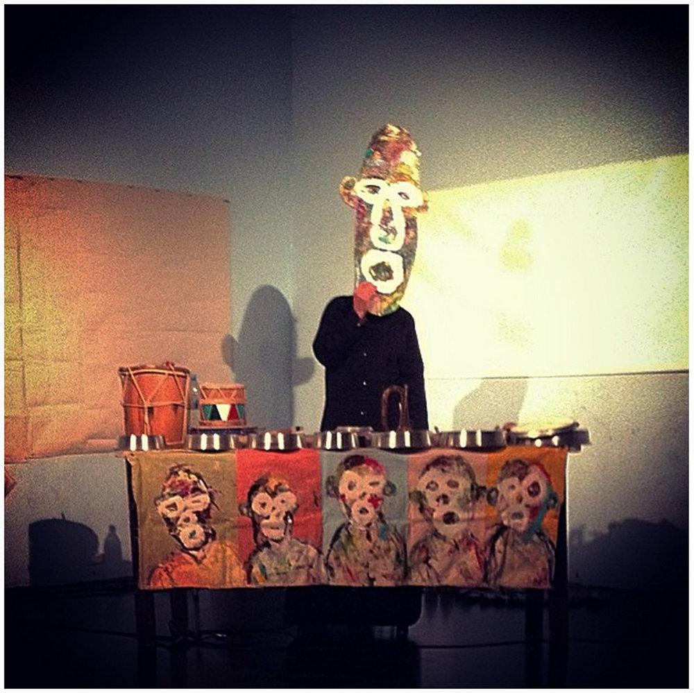 Jasun Martz performs in Buenos Aires, Argentina