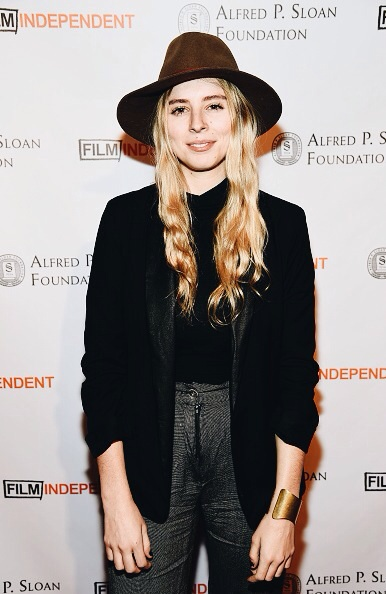 "Eliza at the Alfred P. Sloan Summit in Los Angeles representing her film ""Without Fire"" which received the Alfred P. Sloan Production Grant from NYU."